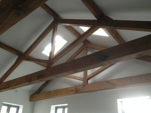Oak Trusses made in Lavenham