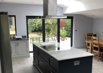 Swimming Pool Converted into Kitchen, Branford Tye
